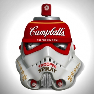 Famous Artists Reinvent Stormtrooper Helmets for London Underground Exhibit