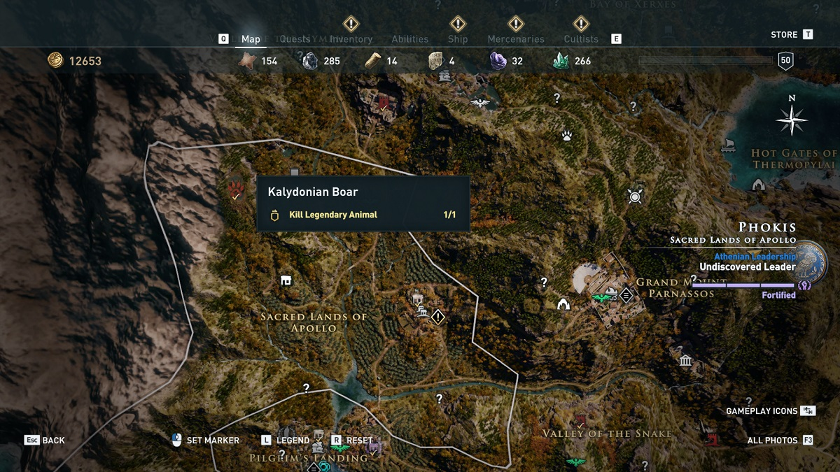 How to Find and Beat Every Legendary Animal in Assassin's