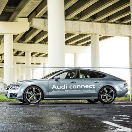 Audi Road-Tests Self-Driving Car