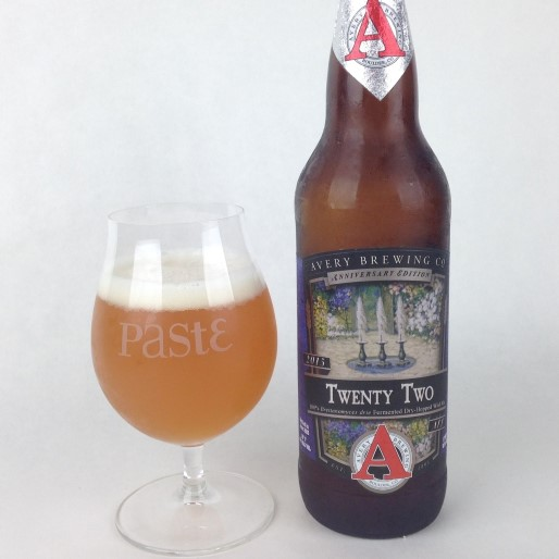 Avery Brewing Co. Twenty Two (22nd Anniversary) Review