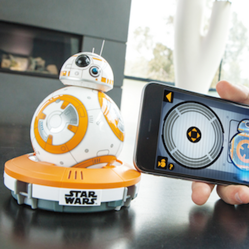 Roll Around the House with <i>The Force Awakens</i>' BB-8 Droid