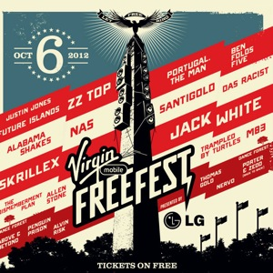 Virgin Mobile FreeFest 2012 Lineup Announced