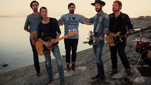Band of Horses to Play Newport Folk Festival 2014