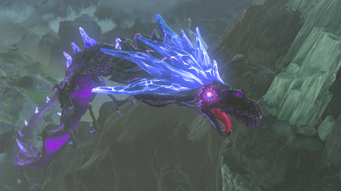 Image result for zelda botw dragon