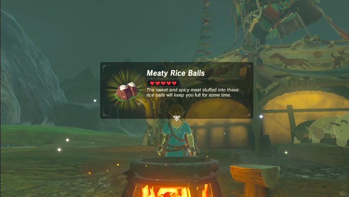 Cake Recipe In Zelda Breath Of The Wild: Zelda Recipes: Make Your Own Breath Of The Wild Meaty Rice
