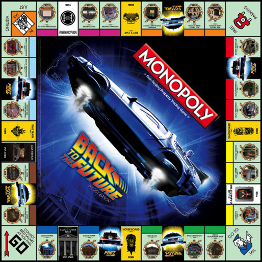 Here's Our First Look At Monopoly's <i>Back to the Future</i> Trilogy Edition
