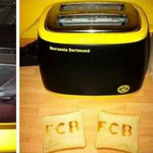 Worst Christmas Present Ever: Borussia Dortmund Toaster Makes Bayern Munich Toast