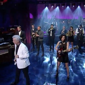 Watch David Byrne &amp; St. Vincent on &lt;i&gt;Letterman&lt;/i&gt;