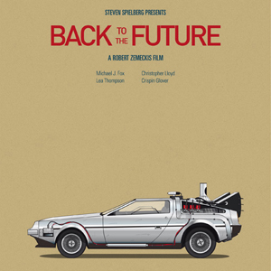 Poster Series Features Iconic Vehicles From Popular Films