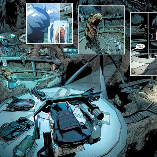 Comics Community Gives Great Advice After Scott Snyder Teases New Batmobile