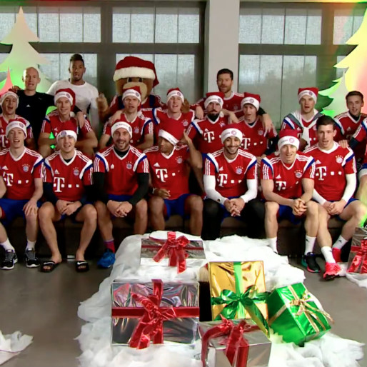 Bayern Munich Wishes You A Merry Christmas