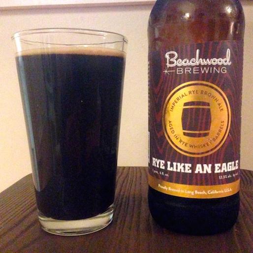 Beachwood Brewing Rye Like an Eagle Review