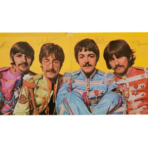 Signed Copy of <i>Sgt. Pepper's Lonely Hearts Club Band</i> Rakes in $290K at Auction