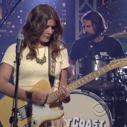 "Watch Best Coast Play ""The Only Place"" on <i>Letterman</i>"