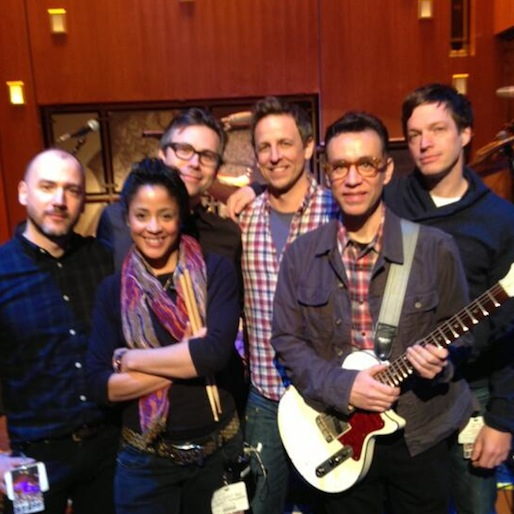Fred Armisen to Lead Seth Meyers' <i>Late Night</i> Band