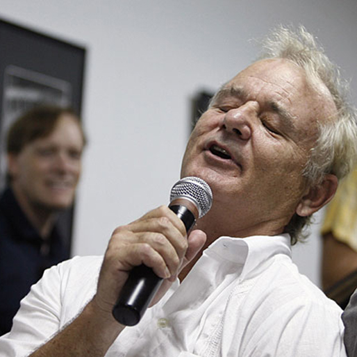"Watch Bill Murray's Karaoke Cover of ""House of the Rising Sun"""