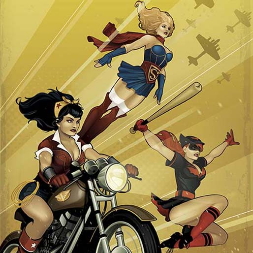 DC Comics to Drop <i>Bombshells</i> Cover Variants, New Series in 2015