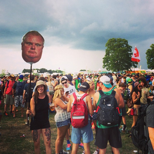 Best Totems of Bonnaroo 2014