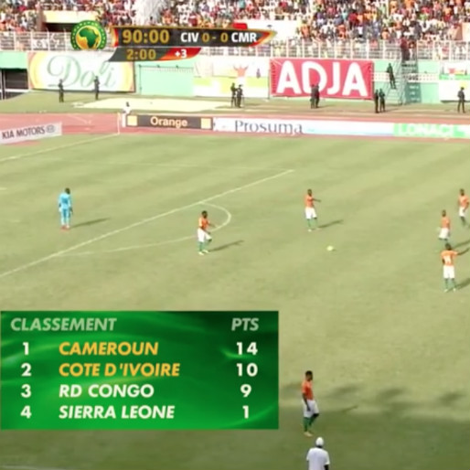 Watch Match Between Ivory Coast v Cameroon Finish in Ridiculous Fashion