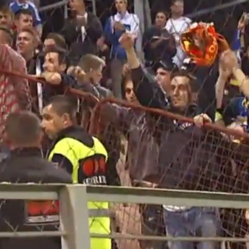 Bosnia-Herzegovina and Belgium Prove Soccer Fans Can Be Friends