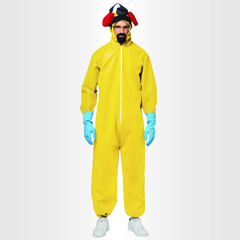 This Halloween, Dress Like Walter White With a <i>Breaking Bad</i> Hazmat Costume