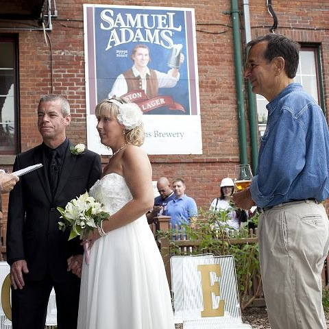 Sam Adams Wants To Brew Your Wedding Beer