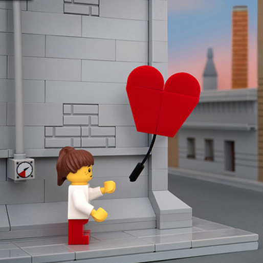 Bricksy Series Recreates Banksy Pieces with LEGO Street Art