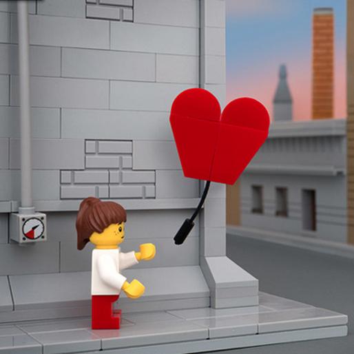 Bricksy Series Recreates Banksy Pieces with LEGO Street Art