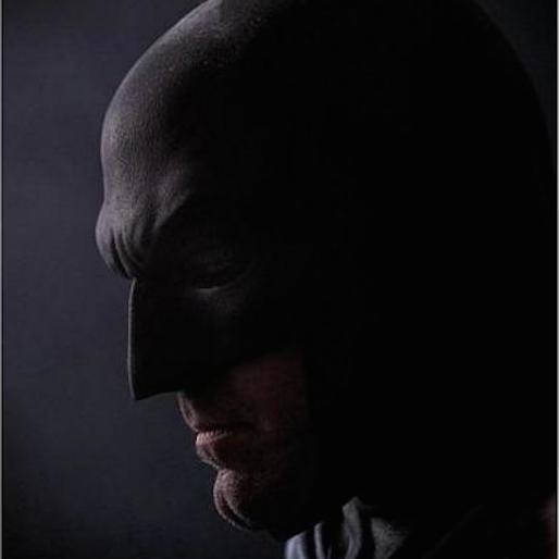 DC Shows off Batfleck's Cowl at Comic-Con