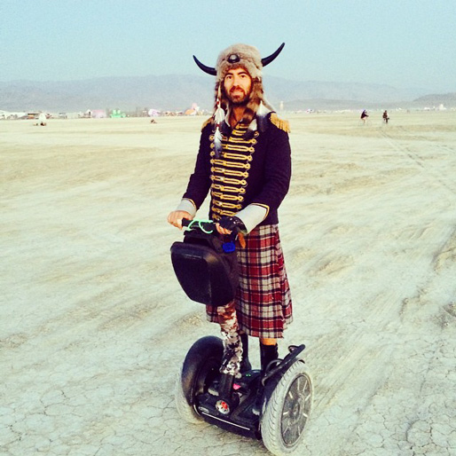 Don't Try This at Home: The Best Looks from Burning Man 2014