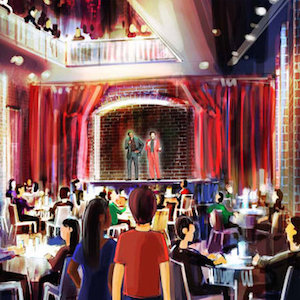 National Comedy Center Opening Comedy Club Featuring Holograms of Dead Comedians