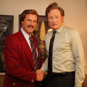 Ron Burgundy to Appear on <i>Conan</i>