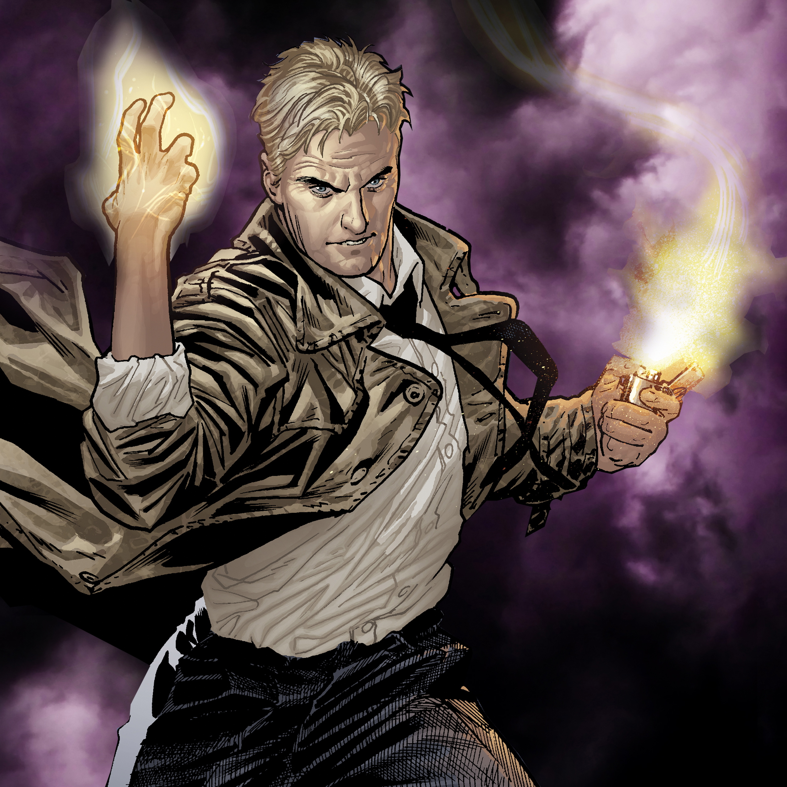 John Constantine Kicks Smoking Habit for Network TV