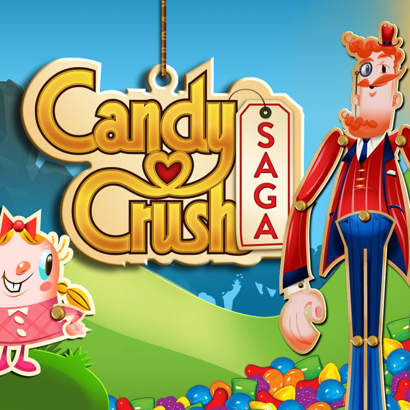 """Candy Crush Saga Developers Apply to Trademark the Words """"Candy"""" and """"Saga"""""""