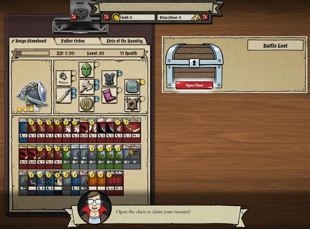 <em>Card Hunter</em> Review (Browser)