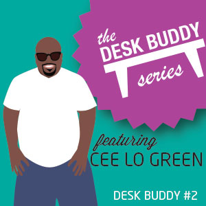 Make Your Own Cee Lo Green Desk Buddy