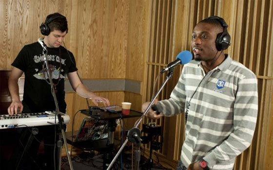 "Watch Chiddy Bang Perform ""Ray Charles"" on <i>Conan</i>"