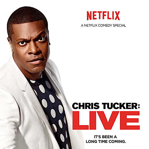 <i>Chris Tucker Live</i> Trailer, Key Art Released