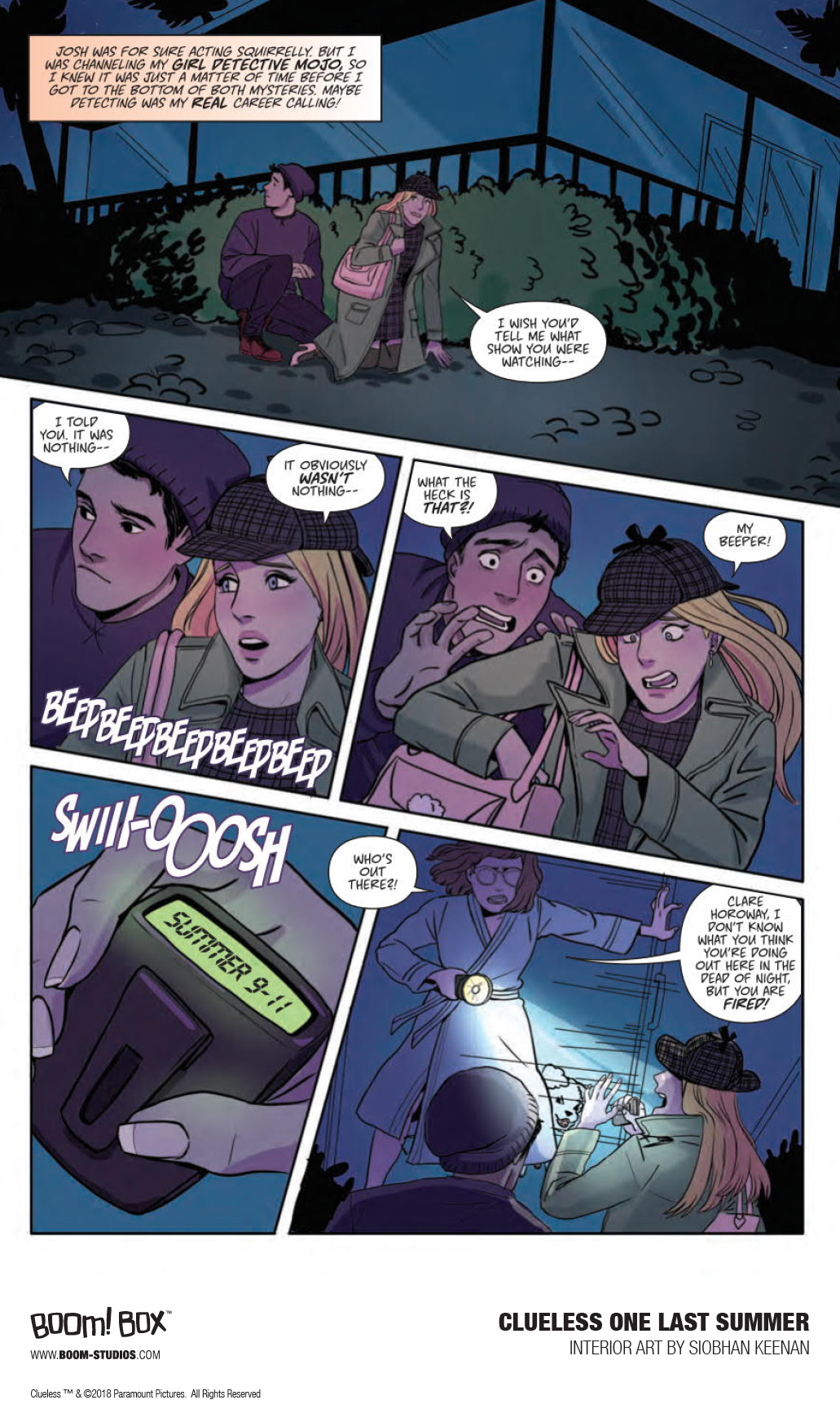 BOOM! Studios Reveals New Preview of Clueless: One Last