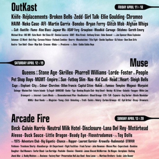 Watch Coachella Performances from OutKast, Arcade Fire, More