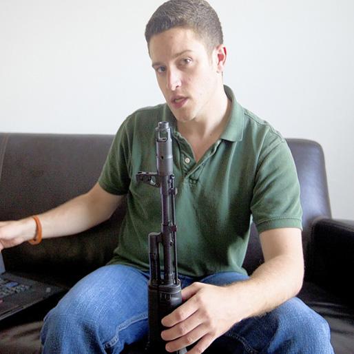3-D Printed Gun Designer Inks $250,000 Book Deal