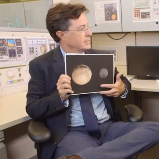 Stephen Colbert Pesters Neil deGrasse Tyson to Give Pluto its Planet Status Back
