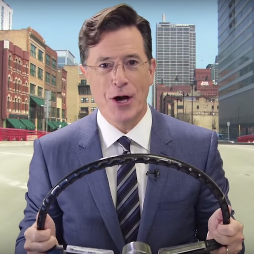 Stephen Colbert is the Newest Celebrity Voice for Waze GPS App