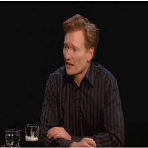 Watch Conan O'Brien and Jack White's &quot;Serious Jibber Jabber&quot;