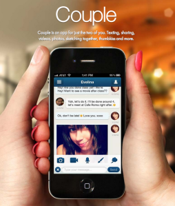Social Media Smartphone App for Couples Adds Snapchat-Like Feature