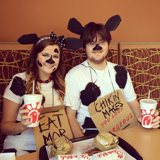 The 20 Best Costumes of Cow Appreciation Day 2014