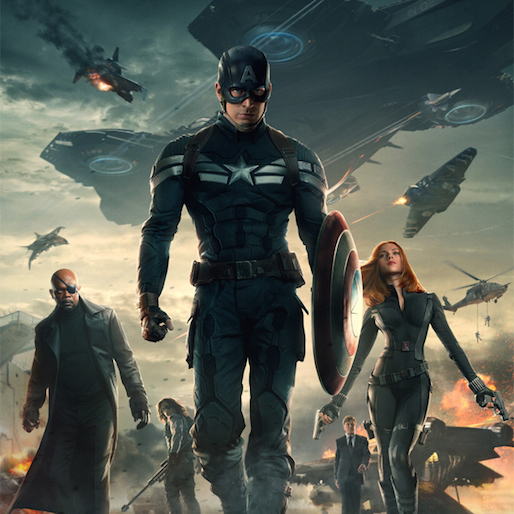 Watch a 4-Minute Clip from <i>Captain America: The Winter Soldier</i>