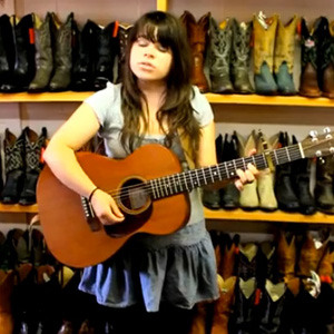 Two Guitars Stolen from Samantha Crain's Oklahoma Home