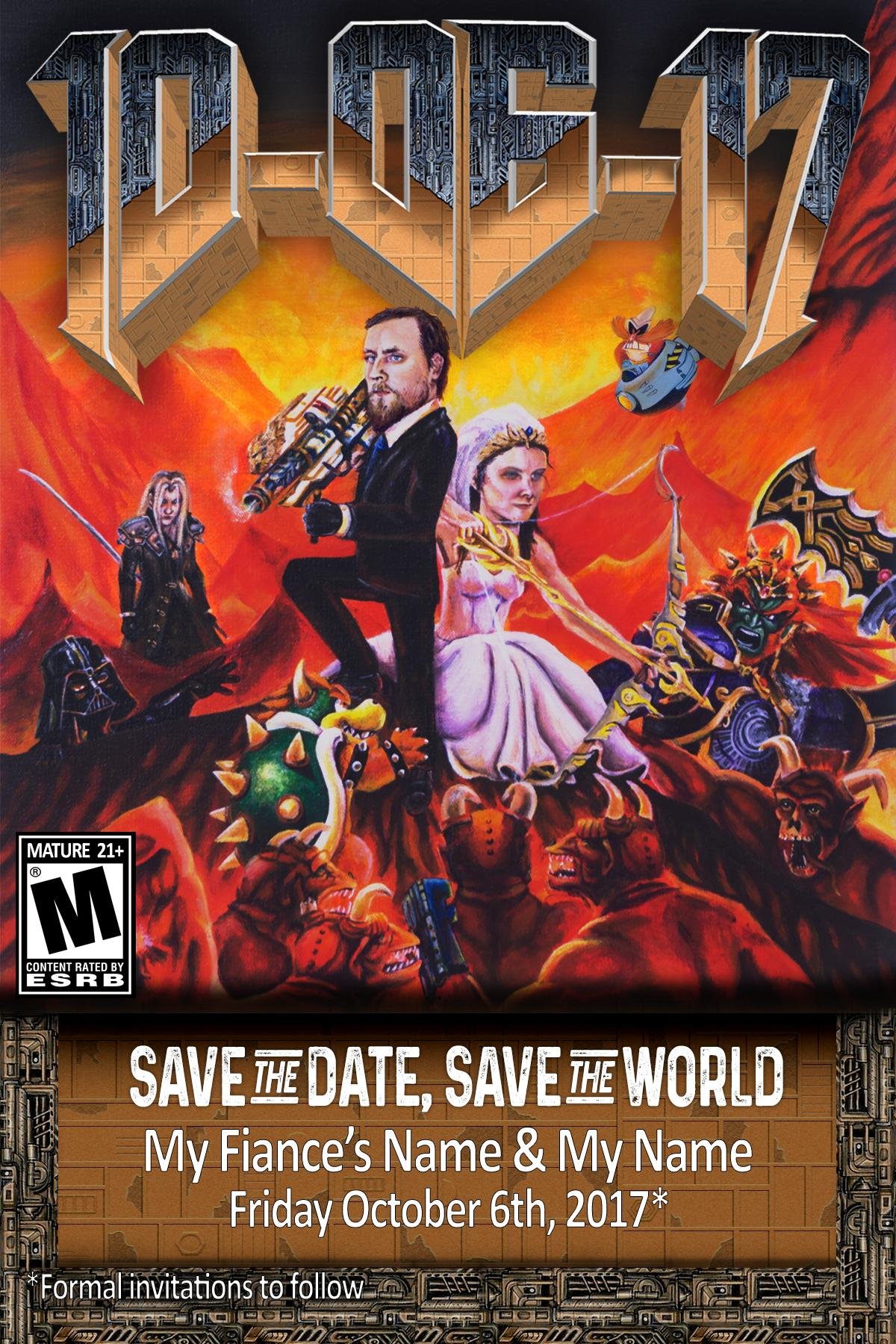 This Wedding Invitation is Doomed :: Games :: News :: DOOM :: Paste