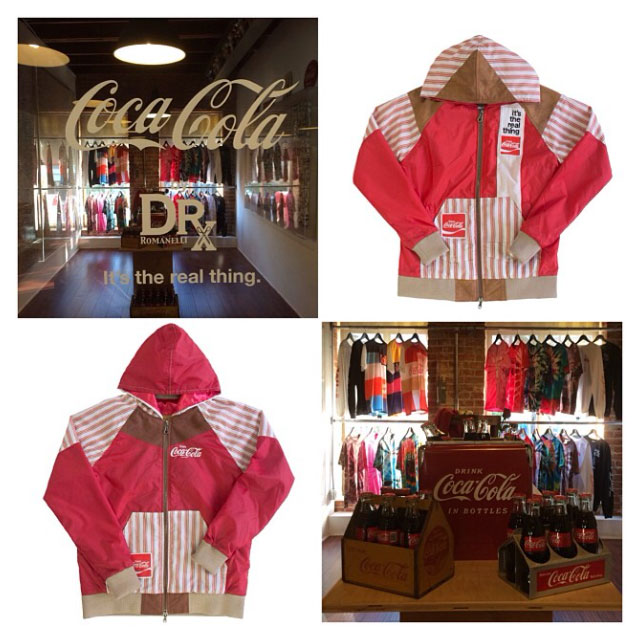 Coca-Cola, DRx Team Up for Vintage-Inspired Collection